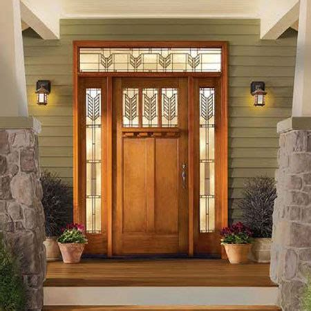 Steel Vs Fiberglass Entry Door by Fradet Lumber Home Building Remodeling Ct