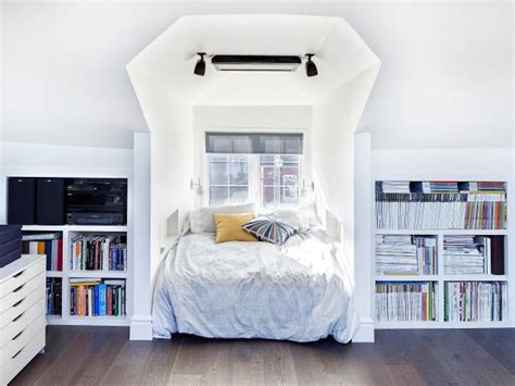 before after serene attic bedroom makeover idea decorating envy before and after attic remodels hgtv