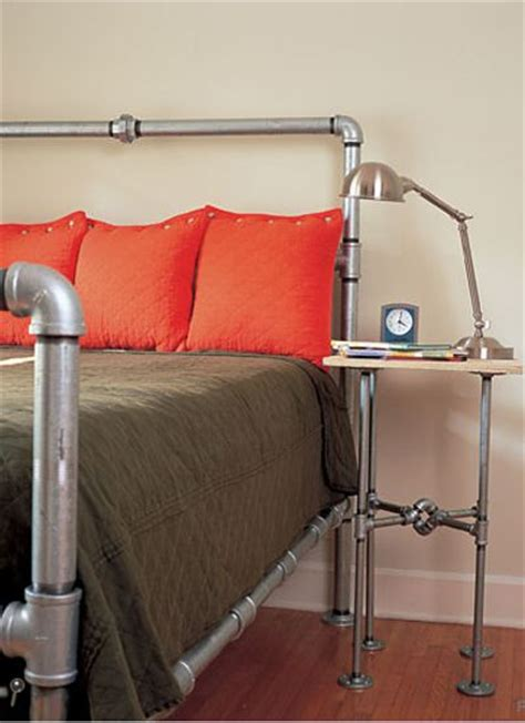 pipe headboard 17 best ideas about pipe bed on pinterest industrial bed