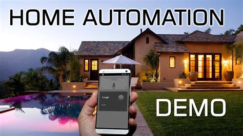 android home automation demo not for apple ios 8
