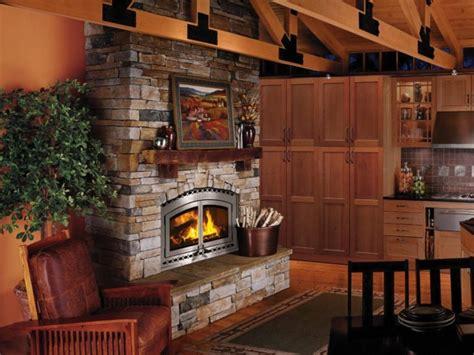no chimney wood burning fireplace images