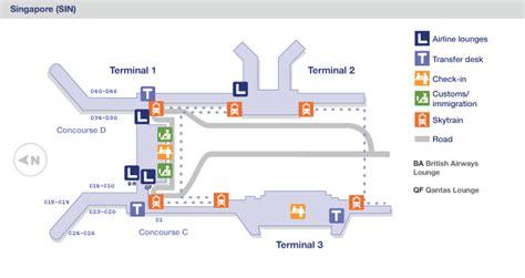 Sydney Airport Floor Plan by Singapour Singapour