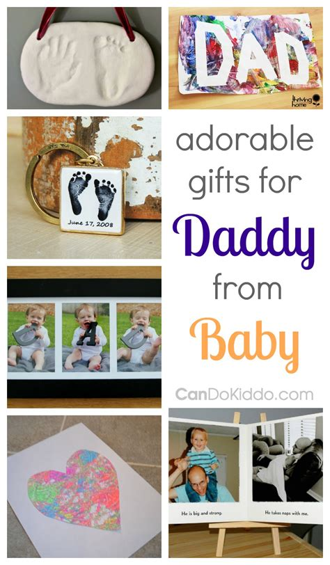 adorable gifts for dad from baby cando kiddo