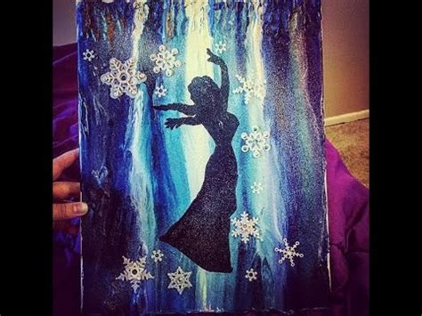 disney s frozen themed melted crayon art frozen melted crayon art youtube