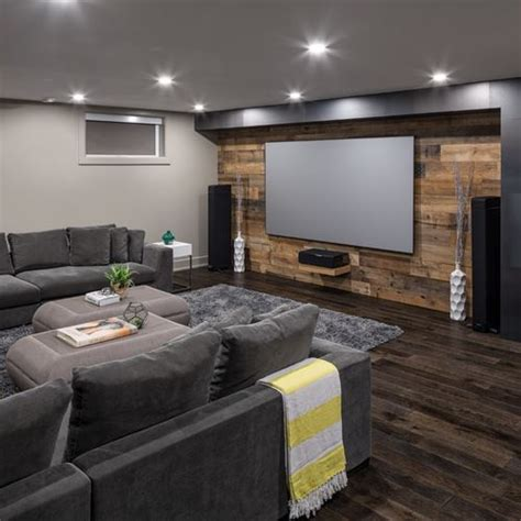 25 popular ideas of living room theaters homeideasblog com 25 best ideas about basement designs on pinterest