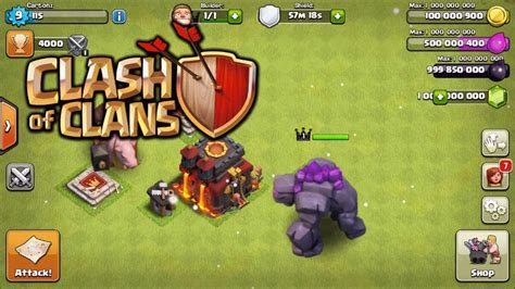 clash of 2 mod apk troops and building levels increased in update of clash of clans 9 256 8 apk for android