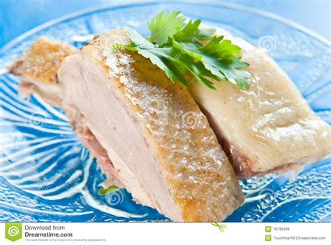 boil chicken and boiled duck royalty free stock images