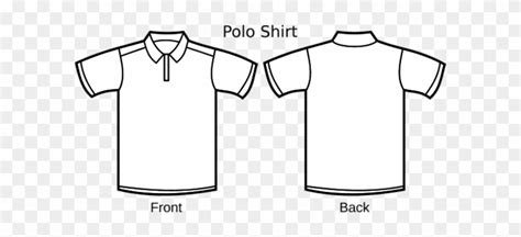 Polo Shirt Template Line Art Polo Tee Shirt Design Template Free Transparent Png Clipart Polo Shirt Design Template