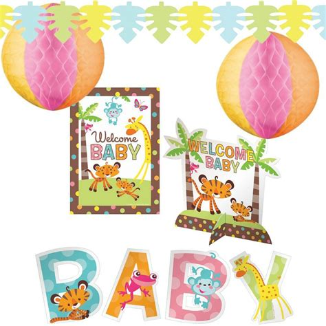 Baby Shower Products by Fisher Price Baby Shower Decorating Kit