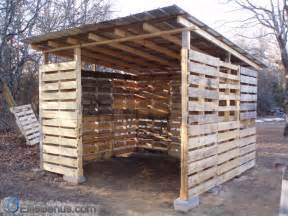how to build a shed out of wood pallets