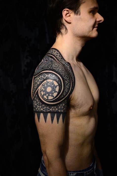 65 Best Tattoo Designs For Men In 2017 Shoulder Tattoos For Guys