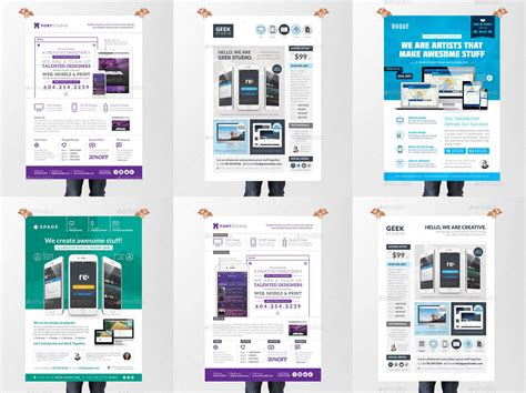 100 brochure templates indesign indesign flyer