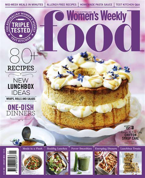 magazine layout jobs australia australian women s weekly launches new food magazine b t