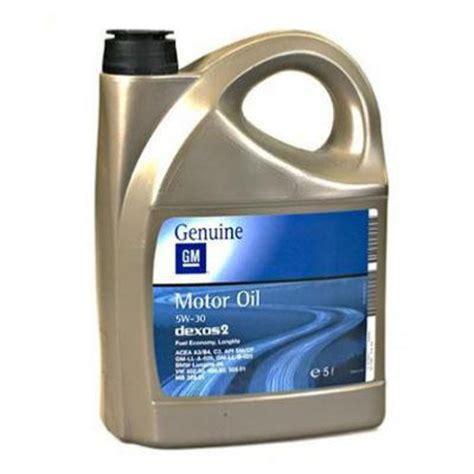 aceite opel gm dexos2 5w30 5l