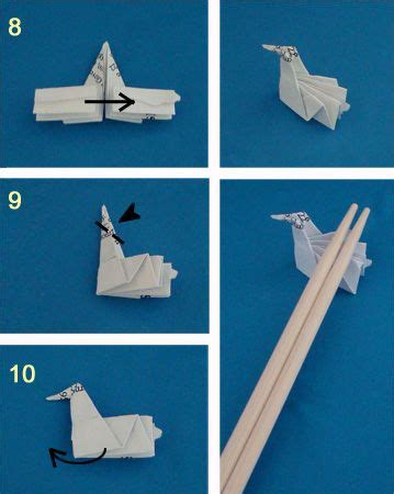 Chopstick Holder Origami - on how to make an origami chopstick wrapper