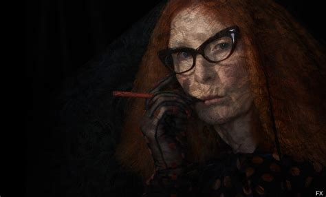her a fabulously creepy american horror story coven photos are fun fabulous creepy huffpost