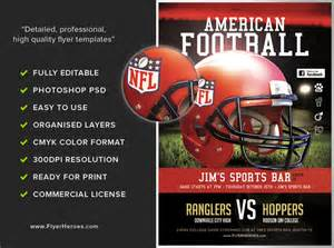 football flyer templates american football flyer template flyerheroes