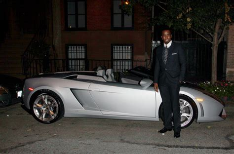 Lamborghini Truck Diddy Combs In P Diddy With His Lamborghini Zimbio