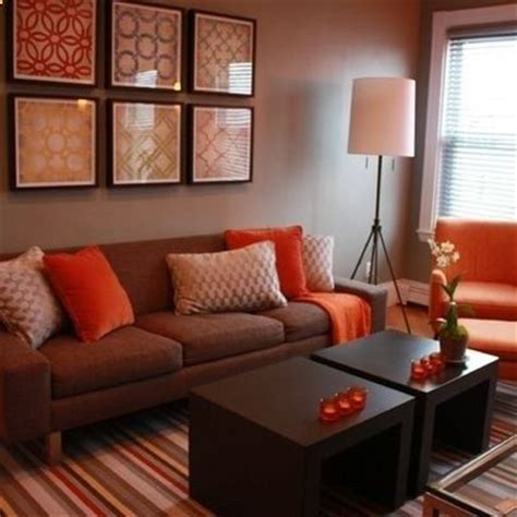 brown and orange home decor best 25 brown decor ideas only on pinterest brown couch