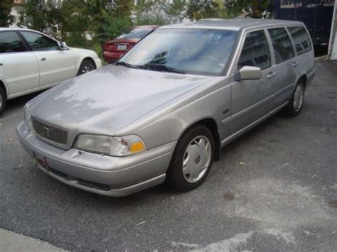 volvo station wagon 1998 sell used 1998 volvo v70 station wagon w third row seats