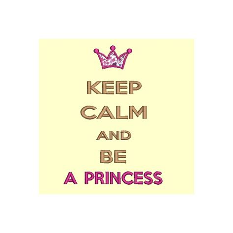 imagenes de keep calm and be a princess motif de broderie keep and be a princess