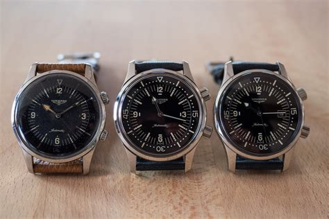 longines dive a week on the wrist the longines legend diver