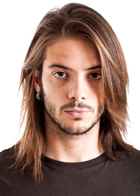 long hair for skinny face men rock hairstyle men long hair