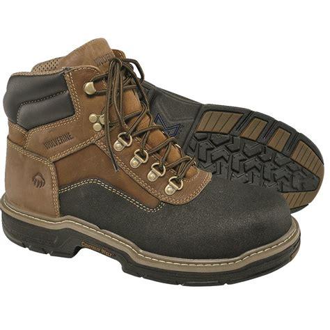 wolverines boots wolverine multishox 174 armortek composite toe waterproof