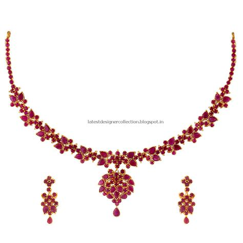 ruby gold necklace ruby necklace ruby jewellery indian clothing