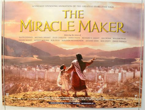 The Miracle Maker The Miracle Maker 1999 Poster Ralph Fiennes Richard E Grant Ebay