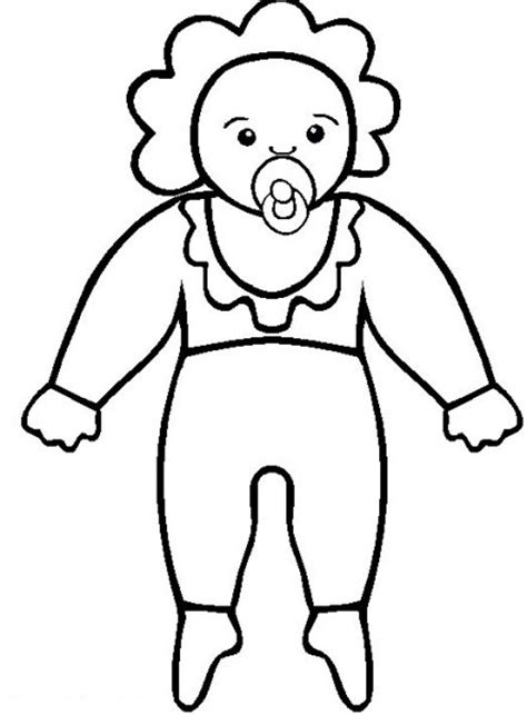 free coloring pages of dolls
