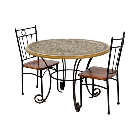81 Off Mosaic Dining Set Tables Mosaic Dining Tables