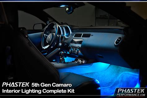 camaro led interior lights camaro ambient led interior lighting kit footwell light
