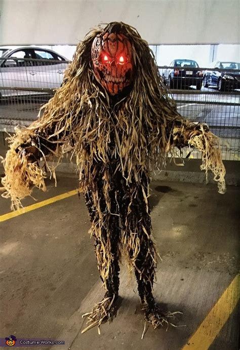 scary pumpkin queen costume