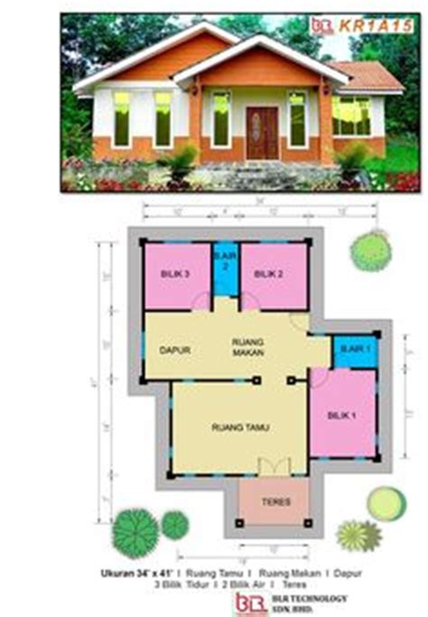 design lu sederhana contoh pelan rumah kos sederhana baiti jannati