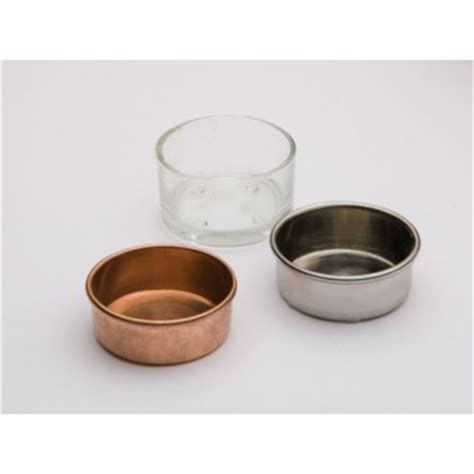 cup lights copper tealight cup
