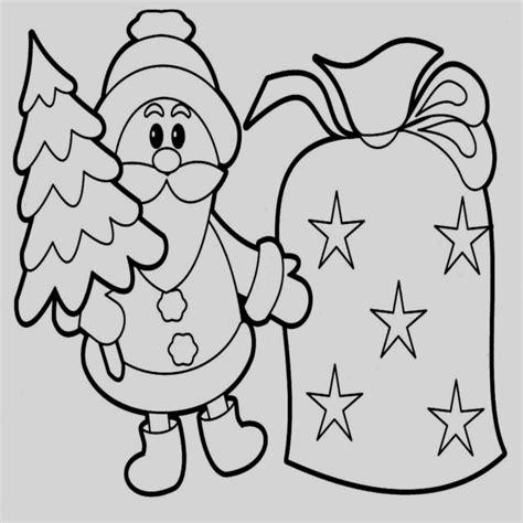 imagenes navideñas para colorear y imprimir dibujos de navidad animados para colorear faciles en