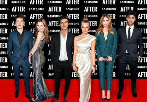 after cast after riprese e cast quasi tutto pronto