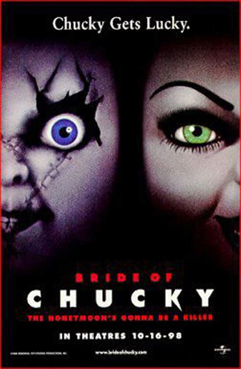 film di chucky poster la sposa di chucky