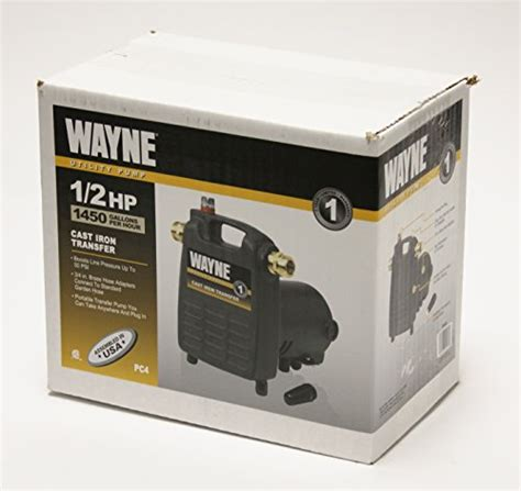 lowe boats warranty transfer wayne pc4 1 2 hp cast iron multi purpose pump with suction