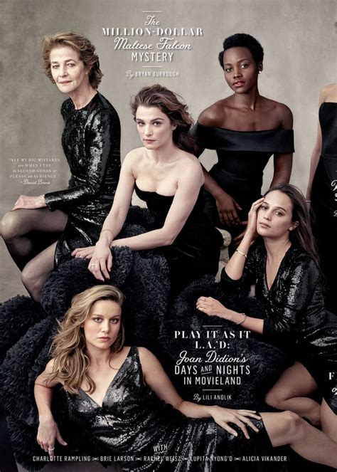 vanity fair puts all on cover of annual