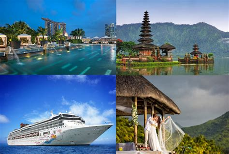 weddingku honeymoon singapore singapore bali with cruise honeymoon tour packages