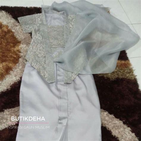 Kebaya Abu Abu kebaya abu butik jahit pesan jual baju gaun