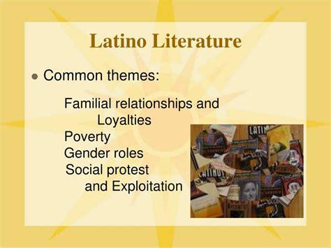 themes in latin american literature ppt hispanic literature powerpoint presentation id 234961