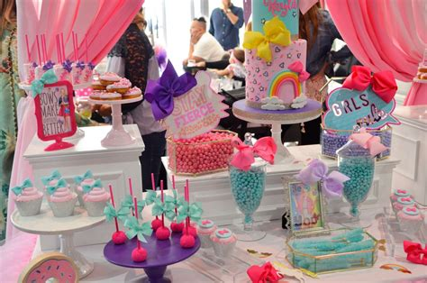 9 year old girl birthday party ideas netmumscom jojo siwa bow birthday party ideas highlights