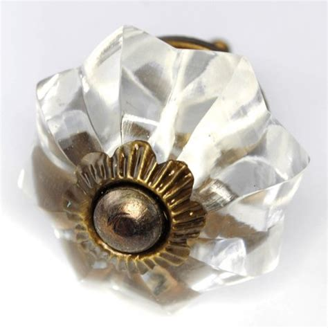 buy fancy clear glass cabinet knobs dresser drawer