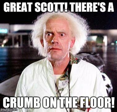 Great Scott Meme - doc brown imgflip