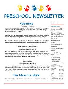october preschool newsletter template preschool newsletter sles for september