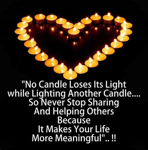 Lighting Of L Quotes In by A Candle Loses Nothing Of Its Light By L By Keller