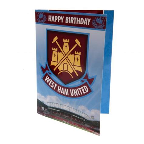 Ham Gift Cards - west ham united gift cards official merchandise 2017 2018